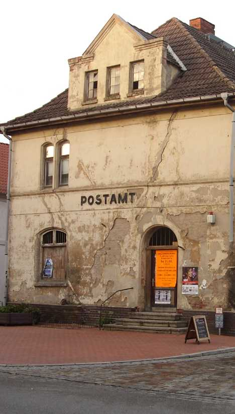 abandoned post office Germany Neustadt-Glewe