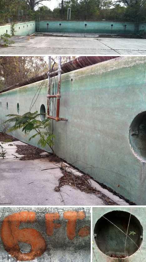 abandoned amusement park pool Robert Langham