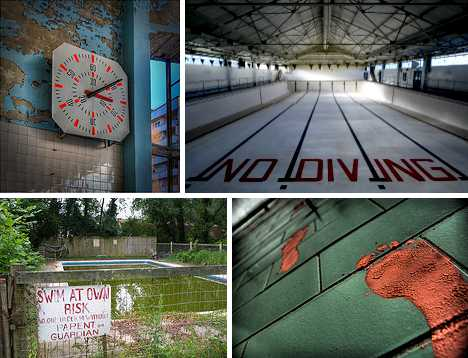 abandoned swimming pools