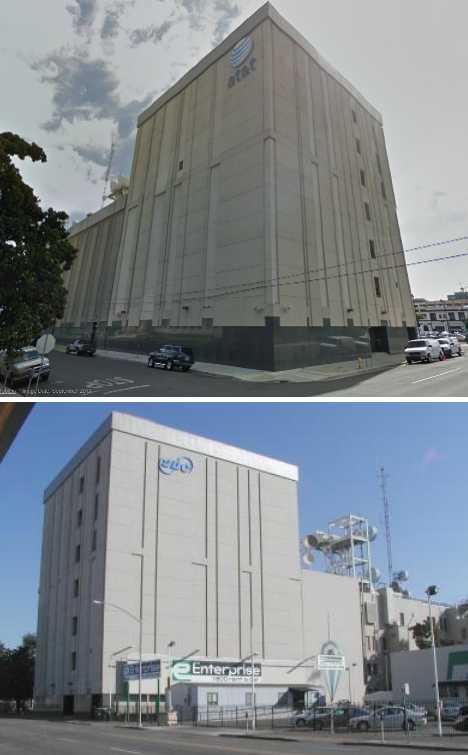AT&T Telecom Building Stockton