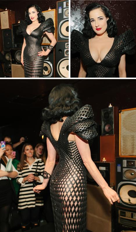 3d black dress debut