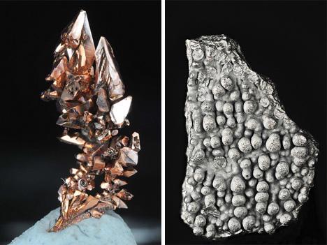 scientific photographs of elements