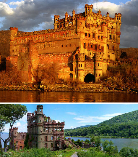 Abandoned Military Bannerman Castle 1