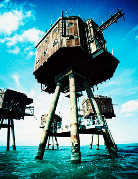 Abandoned Military Sea Forts Maunsell 1