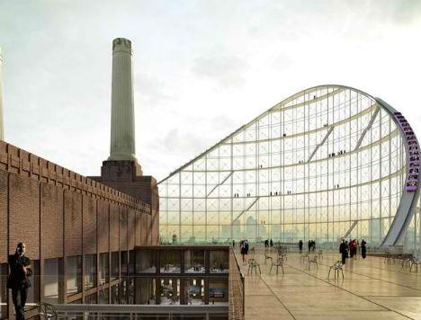 Battersea Power Station Rollercoaster 3