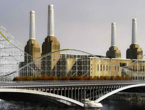 Battersea Power Station Rollercoaster 4