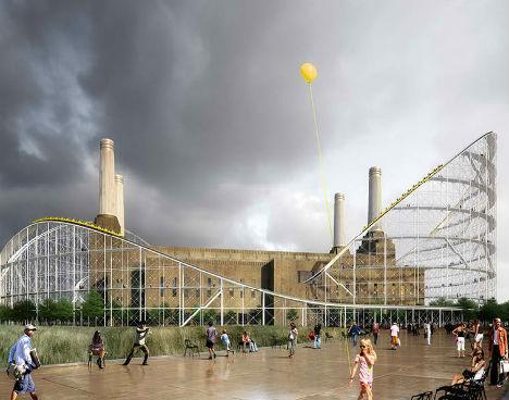 Battersea Power Station Rollercoaster 5