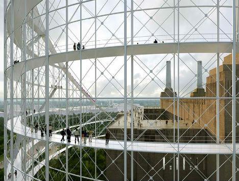 Battersea Power Station Rollercoaster 6
