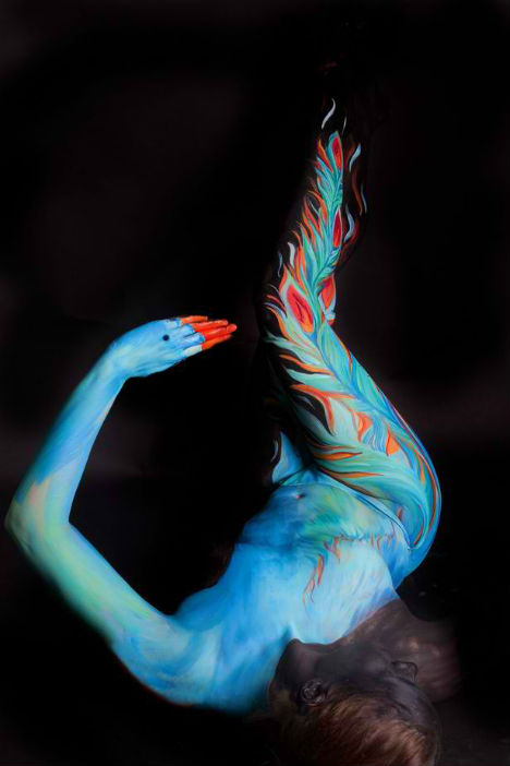 Body Paint Illusion Marwedel 3