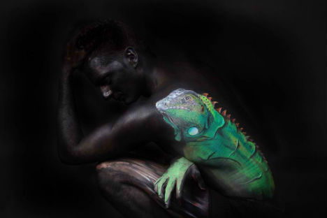 Body Paint Illusion Marwedel 4