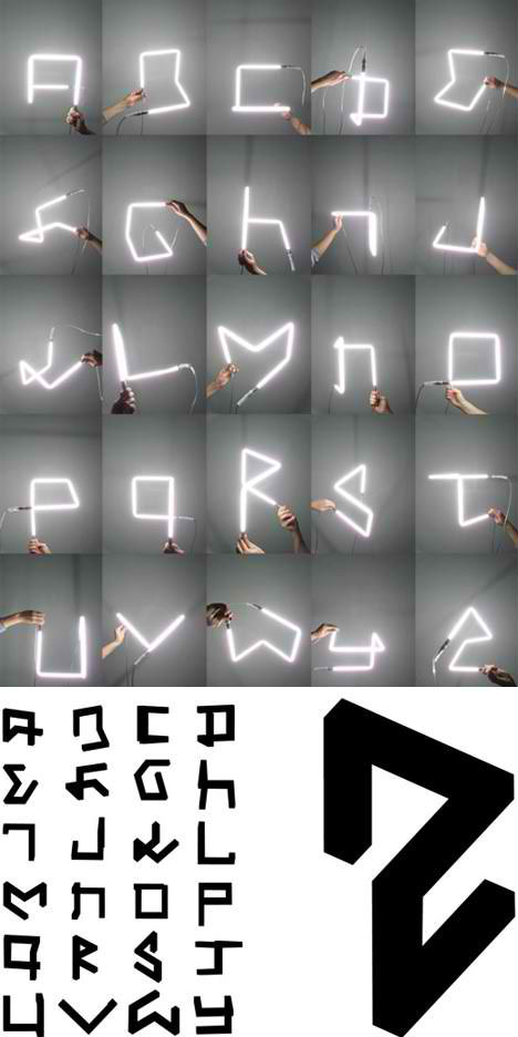 Architecturally Literate 13 Built Alphabets Spell Design