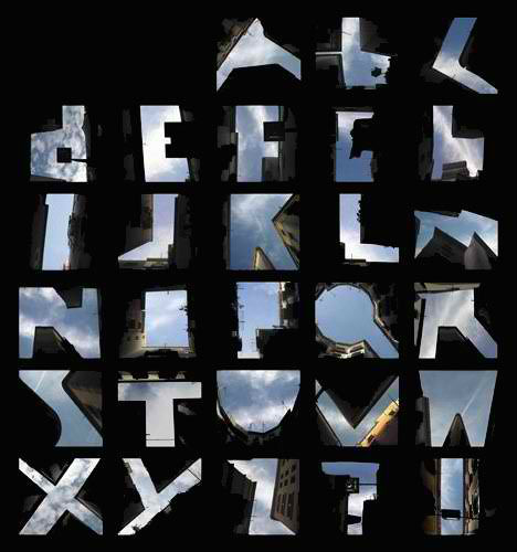 Architecturally literate 13 built alphabets spell design for Architectural letter photos