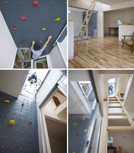 home climbing wall design - Home Climbing Wall Designs