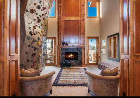 Climbing Walls Colorado House. Domestic Daredevils  12 Insanely Cool Home Climbing Walls   Urbanist