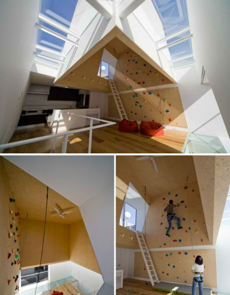 climbing walls moon design