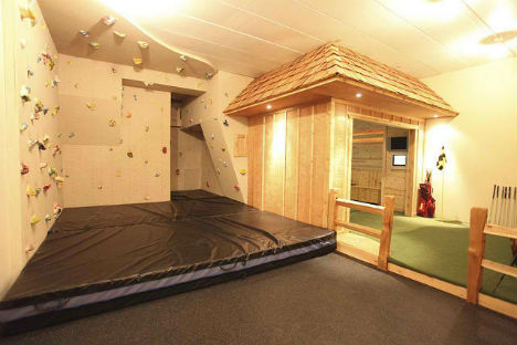 Domestic Daredevils: 12 Insanely Cool Home Climbing Walls | Urbanist