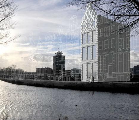 Dutch 3D Printed House 1
