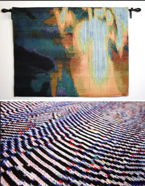 Glitch Art Textiles Stearns
