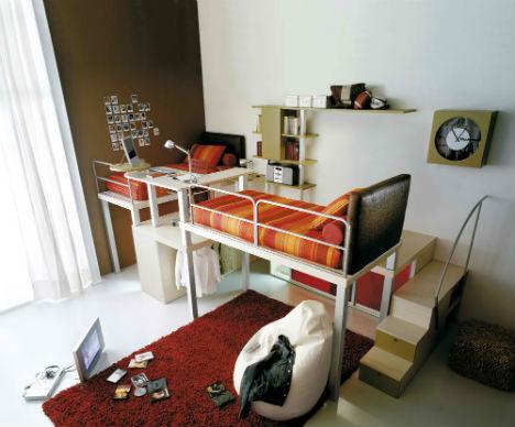 Lofted Kids Bedroom Sets 5