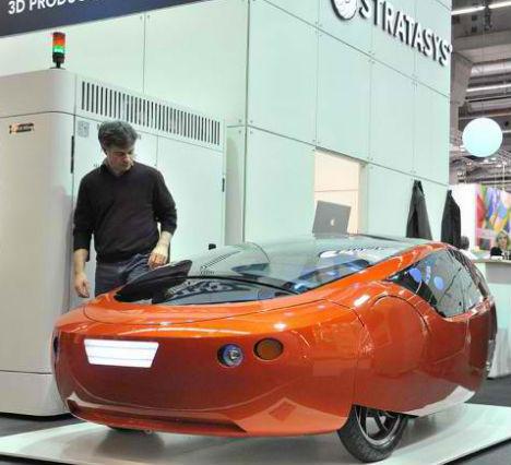 Urbee 2 3D Printed Car