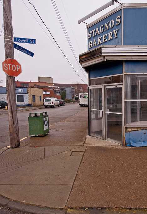 Stagnos Bakery abandoned Pittsburgh