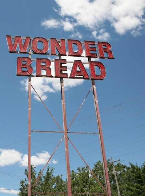 Wonder Bread bakery sign Columbus Ohio