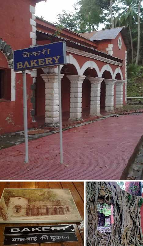 abandoned bakery Andaman Islands 1858