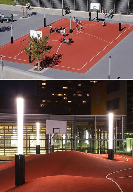Inges Idee Munich 3D basketball court