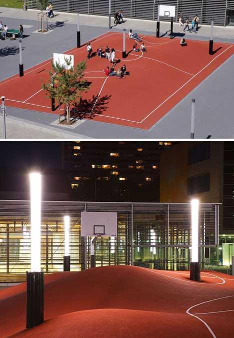 Inges Idee Munich 3D basketball court