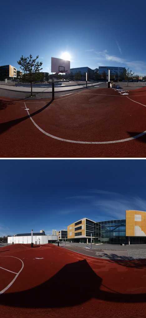 Inges Idee 3D Munich basketball court