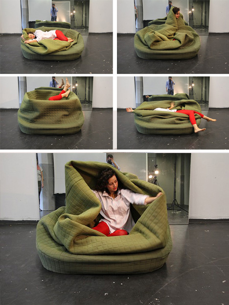 Self Snuggling 7 Super Cozy Full Body Wrapping Seats