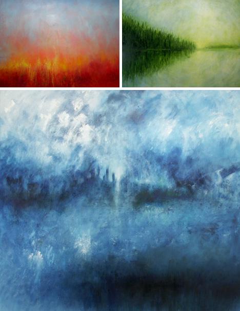 chromatic abstract art prints