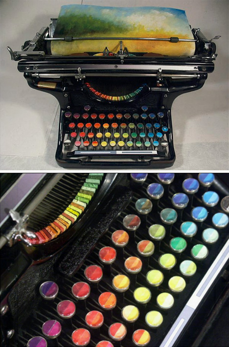chromatic upcycled landscape printer