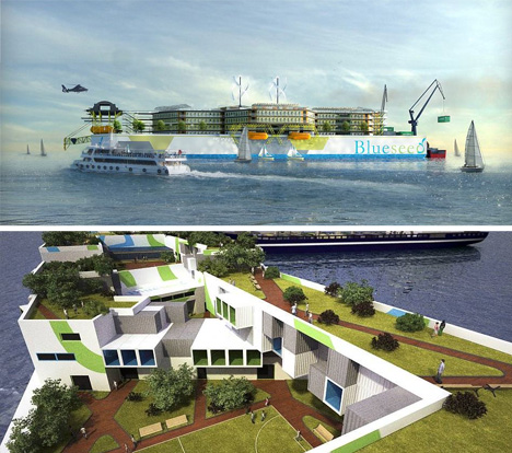 international floating seasteading incubator