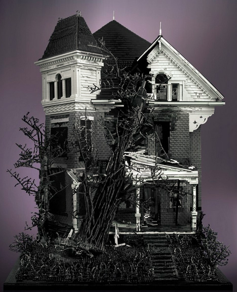 Model haunted house