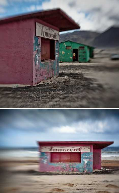 abandoned lifeguard hut Cape Town South Africa Innocent