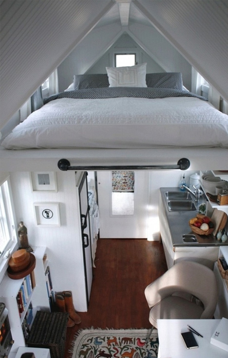 loft a frame bed