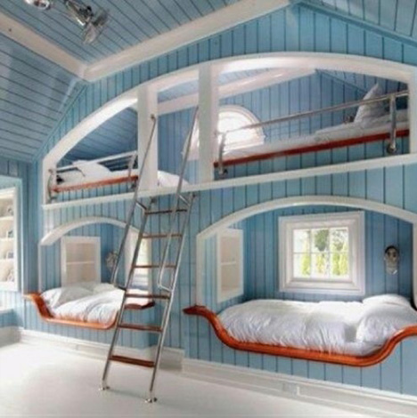 Captivating Loft Bunk Bed Examples. Lofted Kids Bedroom Design