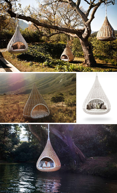 nest rest hanging hut