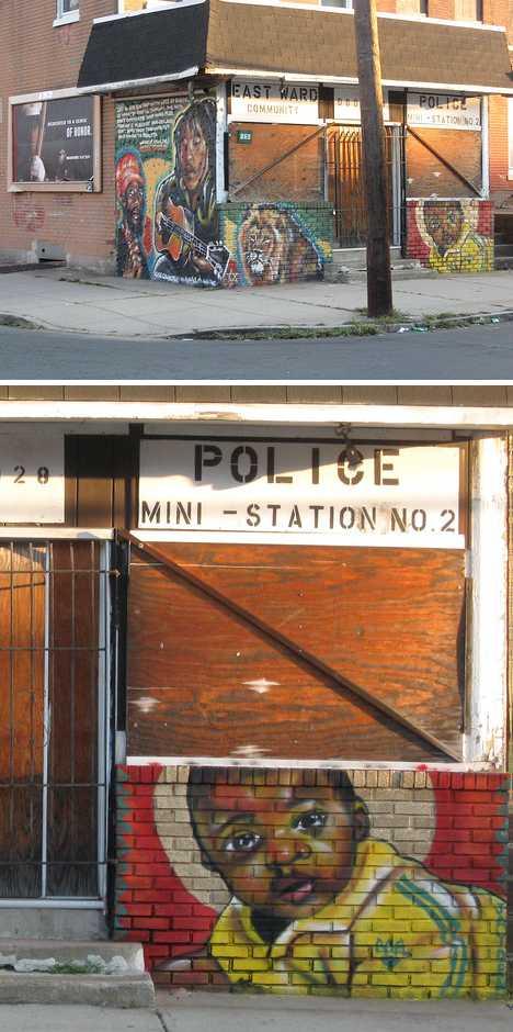 KASSO East Trenton abandoned police station