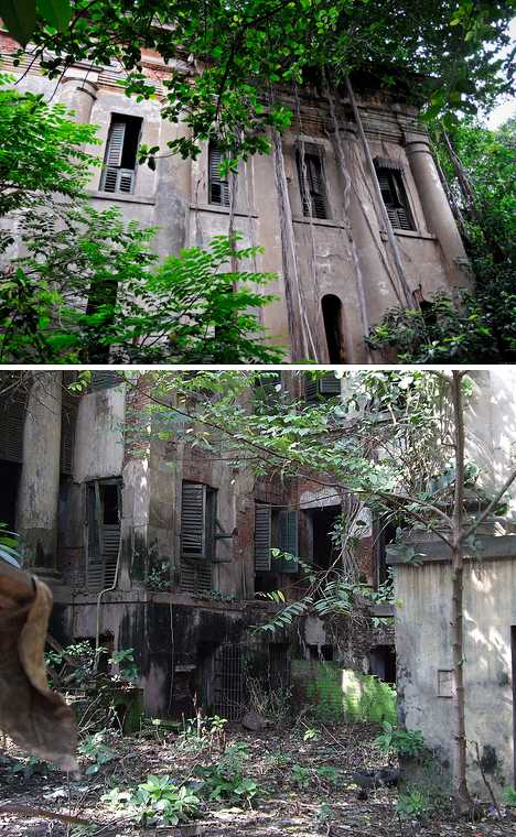 abandoned Jorabagan Police Station Kolkata India