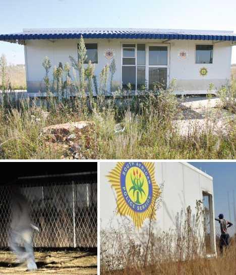 Bramfischerville Soweto abandoned police station