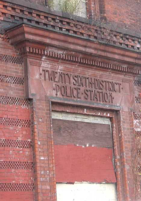 Philadelphia Fishtown abandoned police station