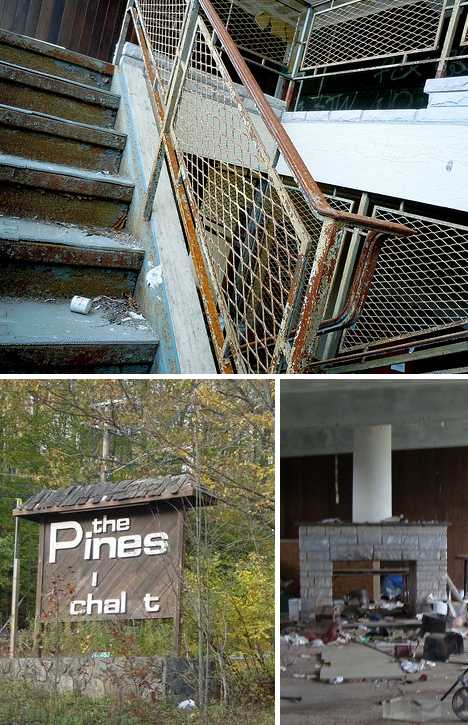 The Pines Golf & Ski Resort abandoned