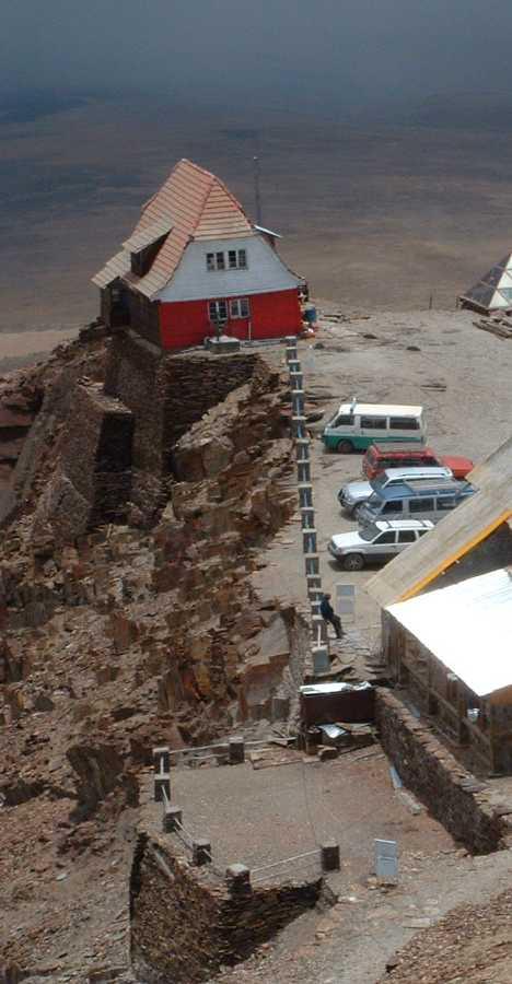 Chacaltaya Ski Resort Bolivia