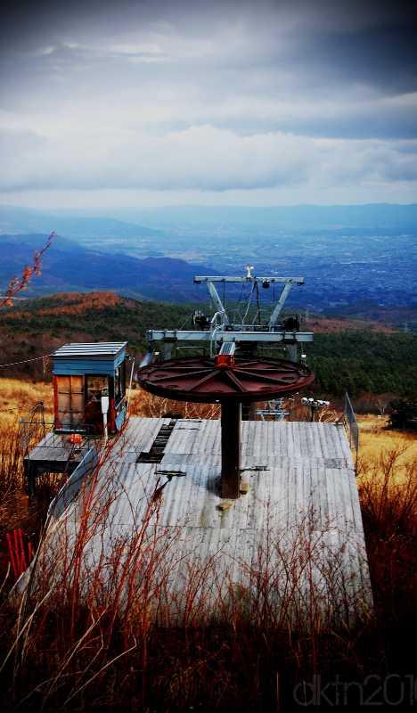 Azuma Lodge abandoned ski resort Fukushima Japan