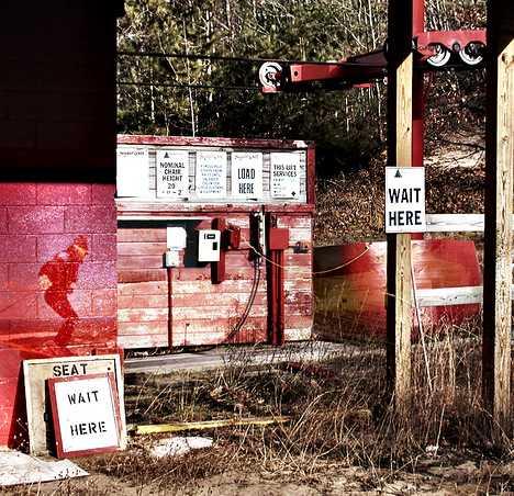 Sugarloaf abandoned ski area