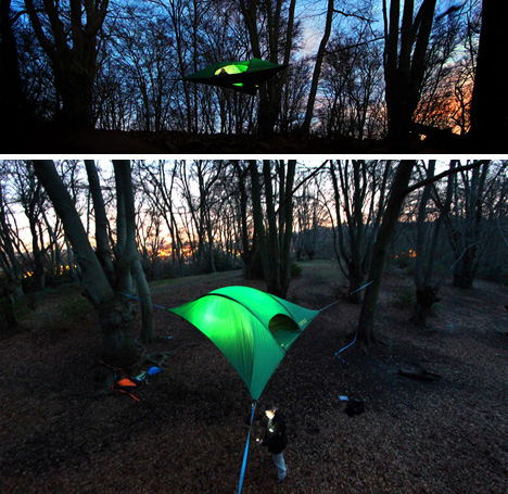 tentsile hanging hammock tent