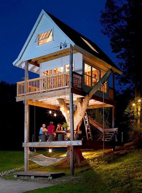 tree house real frame