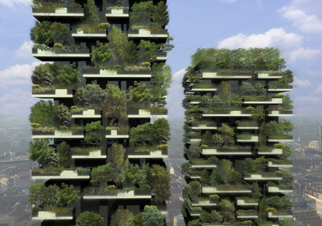 vertical forest buildings